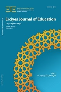 Erciyes Journal of Education [EJE]