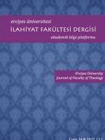 Erciyes Üniversitesi İlahiyat Fakültesi Dergisi